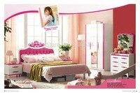 852 # современный стиль детская спальня мебель деревянная мебель для спальни