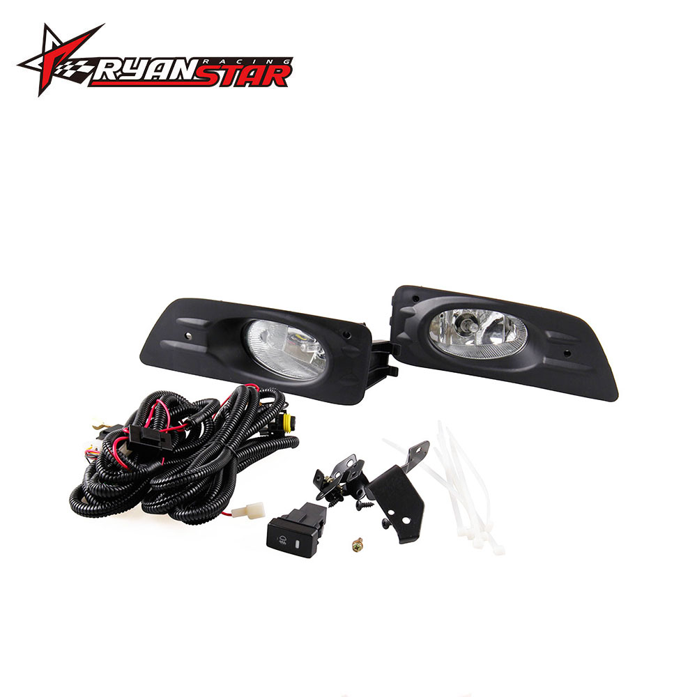 Fog Lights Fit For 06 07 Honda Accord 4 Door Clear Driving Lamps W Wiring Harness Kit Pair Fl006 In Car Headlight Bulbsled From Automobiles Motorcycles On
