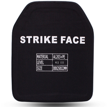 Self-protection Alumina+PE NIJ IIIA Bulletproof Panel/NIJ 3A Stand Alone Ballistic Panel/NIJ level 3A Body Armor Plates
