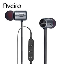 Newest Aveiro Wireless Headphone Bluetooth Earphone For Phone Neckband sport earphone