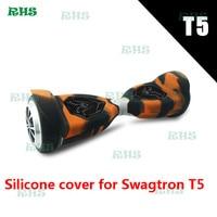 1 sets Fabryka Hurtownie Kolorowe Silikonowe Ochrona pokrywa dla 6.5 cal/8 cal/10 cal/Swagt-ron Hoverboard T5 2 Koła Skuter