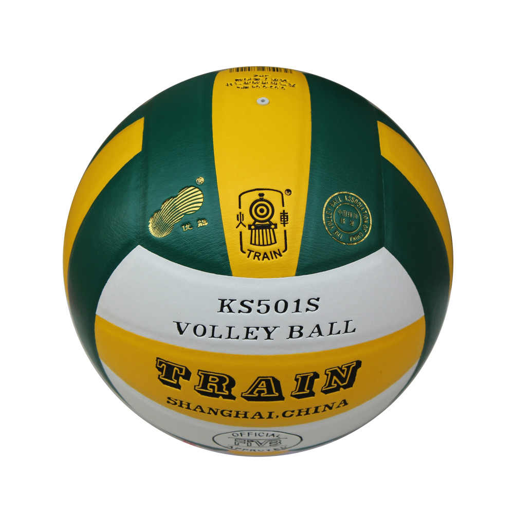 TRAIN KS501S Quality Soft Touch PU Volleyball Size 5 Match
