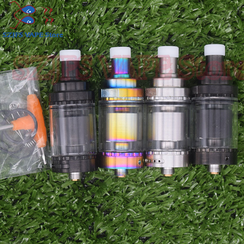 Siren V2 GTA MTL Tank 22/24mm Siren 2 Version 2ml/4.5ml Tank Atomizer Airflow Options Adjustment Vs Apocalypse Rta Mage Rta