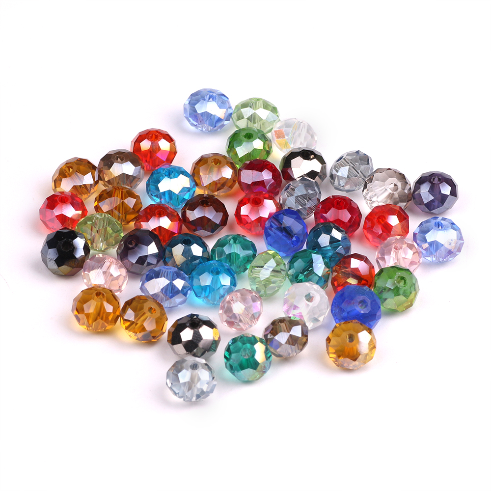 Rondelle Beads Faceted 3mm Crystal Glass Beads 450pcs/lot