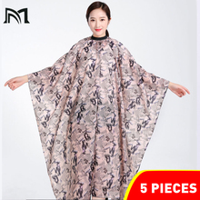 3PCS Hairdresser Capes Professional Cutting Hair Waterproof Cloth Salon Barber Gown Cape Hairdressing Hairdresser Cape for Adult salon professional hair styling cape adult hair cutting coloring styling waterproof cape hairdresser wai cloth barber gown