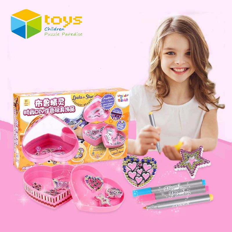 Buy Fashion Diy Coloring Jewelry Set