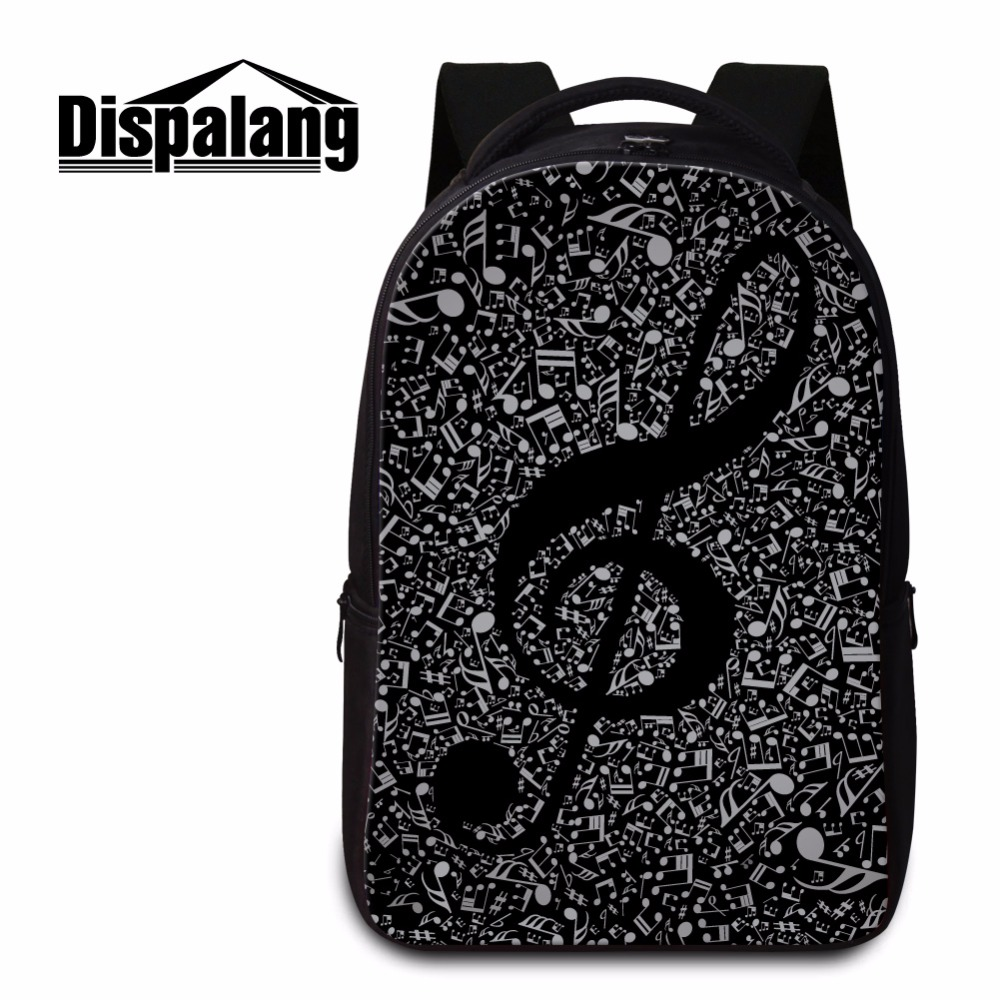 Dispalang Musical Notes Backpack for College Students Art Laptop Backpack Cool Bookbags for Girls Women Day Pack Mochila Bagpack