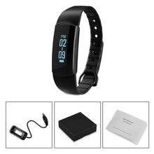 Новый Bluetooth Smart Браслет Спорт Водонепроницаемый Одежда заплыва смарт-браслет для IOS Android телефон смарт часы PK Xiaomi группа JW018