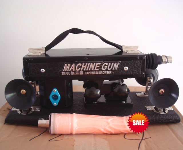 Dhl Shipping Gun Male Female Retractable Dildo Automatic Robot Underwear Sex Machine