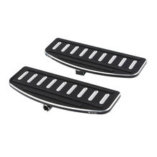 Rider Footboard Inserts For Harley Touring Electra Road Glide 1986-up Trike FLD FLHT FLSTF FL Softail  Motorcycle