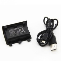 2400mAh Ni MH Battery + USB Charging Cable For XBOX ONE Wireless Controller|Batteries| |  -
