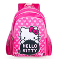 2017 Lovely Cartoon Hello Kitty Girls School Bags Children Kids Backpack Waterproof Bag Satchel Mochila