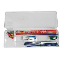 Breadboard Jumper Wire Cord Kit for (For Arduino) (Works with Official (For Arduino) Boards / 140-Piece Pack)