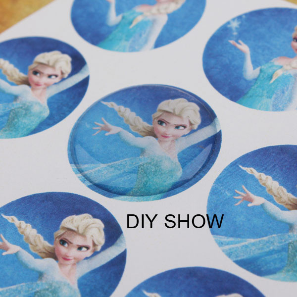 1 inch epoxy stickers adhesive circle stickers self adhesive stickers 3d effect clear round epoxy stickers domes 100pcs in jewelry findings components