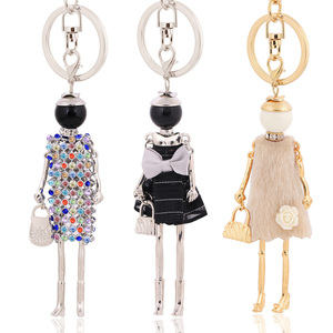 chenlege wholesale fashion key chains bag keyrings charms ladies keychains for women pendants jewelry car key chain ring gifts(China)