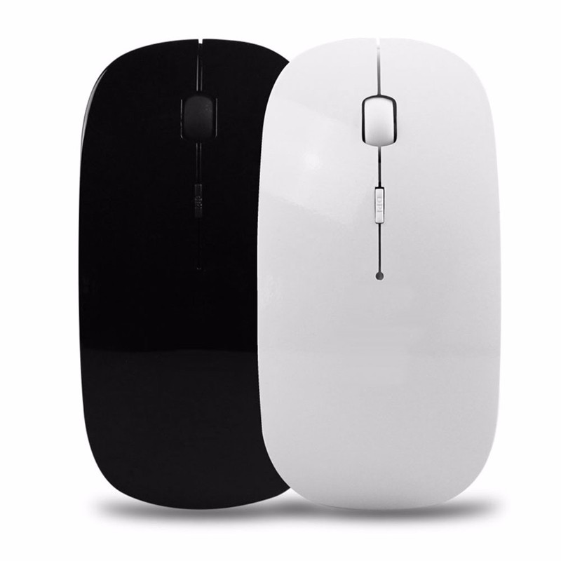 Computer font b Accessories b font 2 4G USB Wireless Rechargeable Mouse Silent Mute Optical Mouse