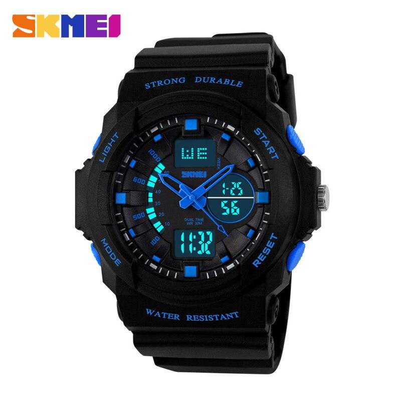 SKMEI Women's Watches Sport Wrist Men's Watches Digital Clock Top Dual Display Chrono Ladies Watch Relogio Feminino Outdoor 1008