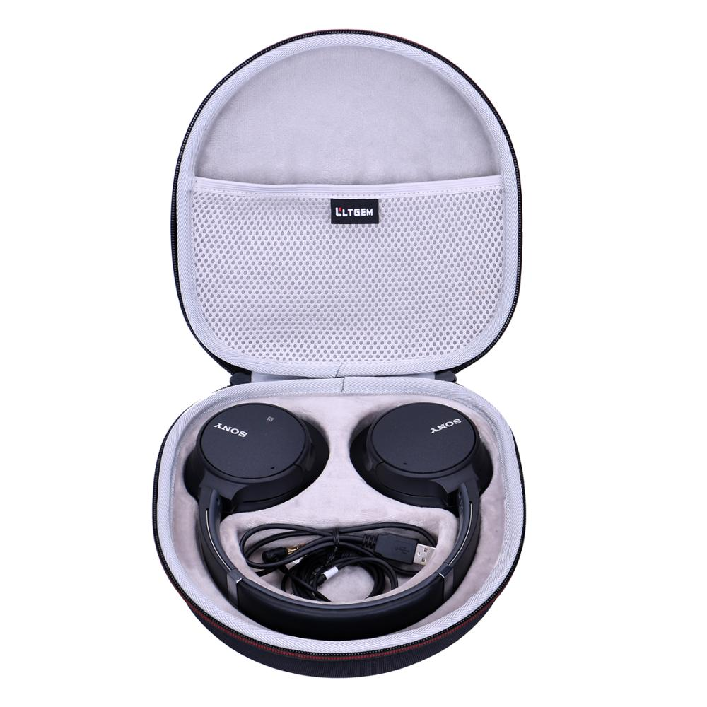 LTGEM EVA водонепроницаемый жесткий чехол для наушников Sony с шумоподавлением, чехол для телефона, чехол для телефона