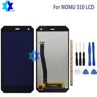 For NOMU S10 LCD Display Touch Screen 100 Original LCD Digitizer Glass Panel Replacement For NOMU