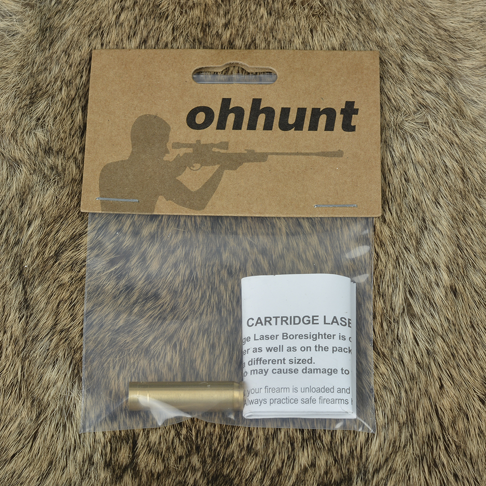 Ohhunt Cal .30 Cartridge Red Laser Bore Sighter Boresighter Sighting Sight Boresight Colimador For Hunting Rifle