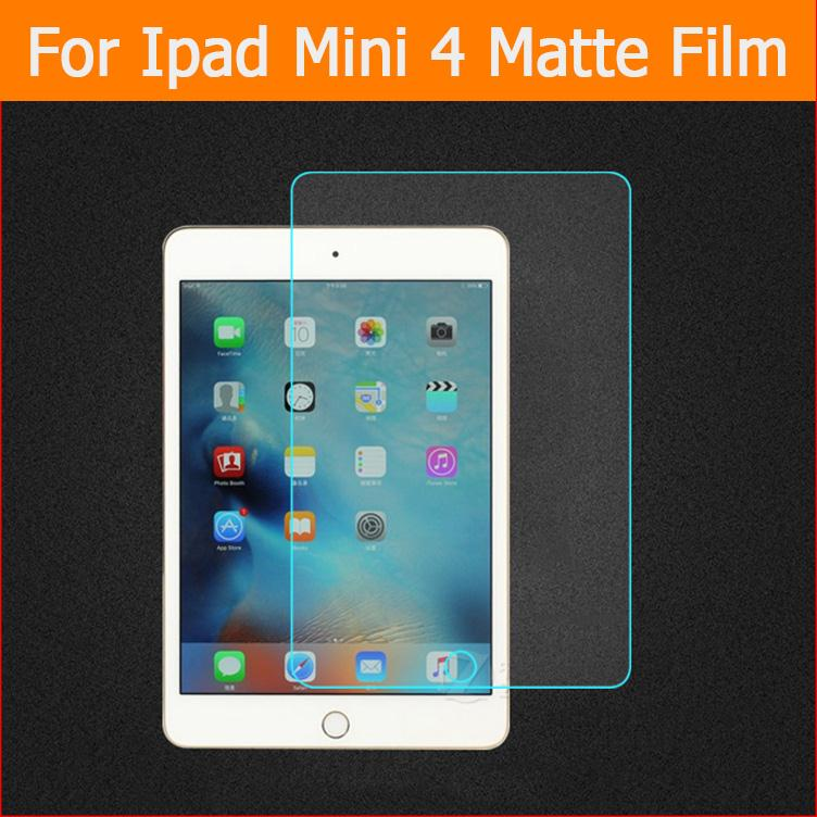 Best quality Anti-Glare Matte protective Films For iPad mini 4 7.9 inch front Screen Protector matte films + clean cloth protective matte pet screen protector for lg g3 mini 3 pcs