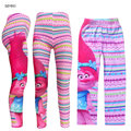 New Year Troll Poppy Costume For Girl Leggings Christmas Winter Spring Children Cartoon Print Warm Pant Kid Trouser 10T