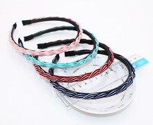 Nova Moda Multicolor Stripe Cabeça com Dentes Prático Pano Faixa de Cabelo para As Mulheres/Meninas Acessórios Para o Cabelo Hairband