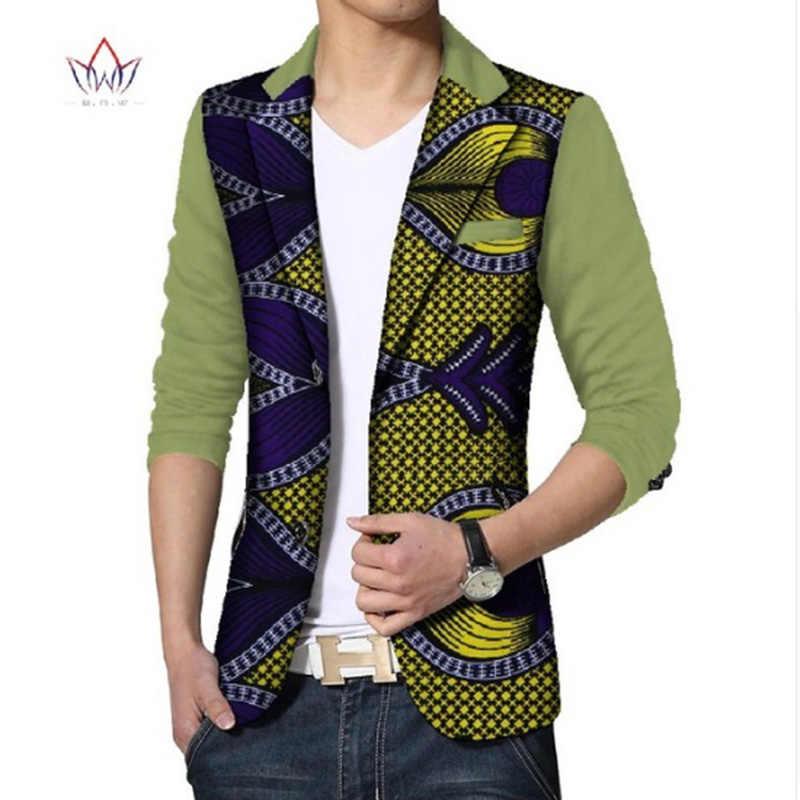 Custom Dashiki Men African Print Clothing Mens Blazer Casual Suits Jacket  Men s Jackets Plus Size African b7009d4a06e3
