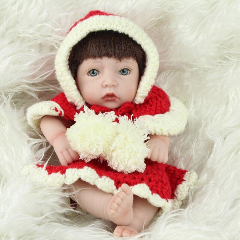 Aliexpress.com : Buy Mini Silicone Dolls Reborn Baby Hand ...
