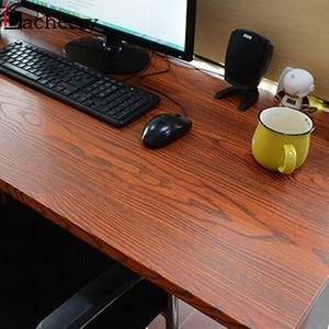 Image 2 - 3M/5M DIY Rustic Wood Wallpaper Roll Furniture Cabinets Wardrobe Door Desktop Self Adhesive Contact Paper Vinyl Waterproof Film