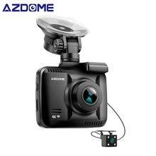 AZDOME GS63H Dual Lens WiFi FHD 1080 P Anteriore + VGA Posteriore Registratore Dell'automobile DVR 2160 P Dash Cam Novatek 96660 Dashcam Fotocamera Costruito nel GPS
