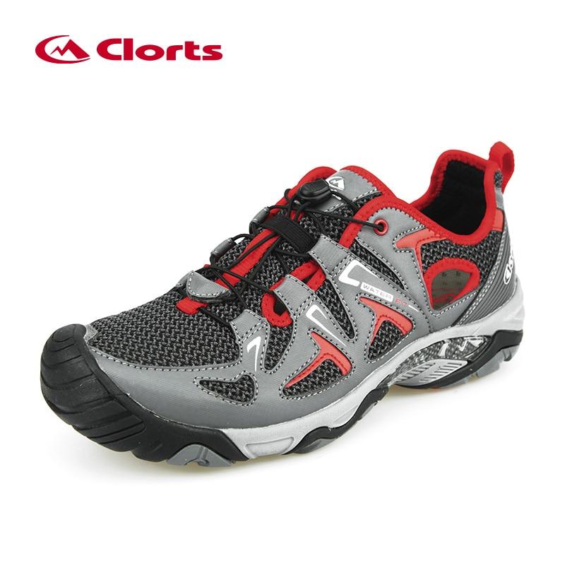 2017 Clorts Hiking Sandals Men Breahtable Outdoor Hiking Shoes Men Beach Sandals Men Sports Sneakers Aqua Trekking Shoes Walking