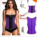 Waist Trimmer Latex Body Hot Steel Boned Waist Corset waist abdomen Corset Top Chest Binder Best Waist Trainer slimming product