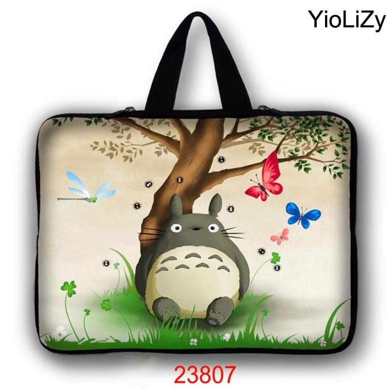 Totoro imprimer 7 10 12 13 14 15 17 Sac D'ordinateur Portable tablet Cas 7.9 9.7 11.6 13.3 14.4 15.4 15.6 17.3 housse D'ordinateur Portable PC couverture LB-23807