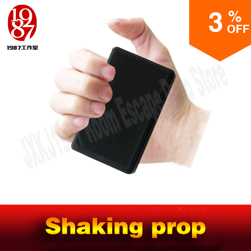 Escape room props shaking prop shake constantly for a certain time to unlock for real life adventurer game jxkj1987 chamber room room escape game prop 12v 2a power supply power adapter for puzzle props