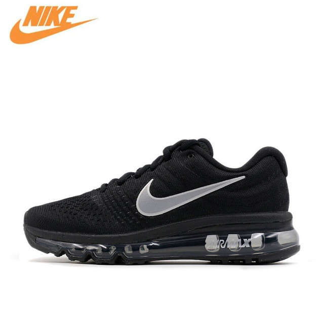 b85b6df580a Nike Air Max 2017 Breathable Men s Original New Arrival Official Running  Shoes Sports Sneakers