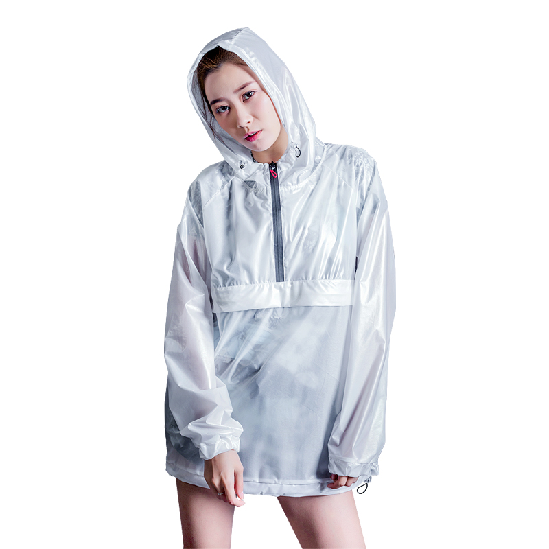 SUSINO Raincoats Waterproof Light Weight Women Rainwear for Hiking Tour Camp Fishing