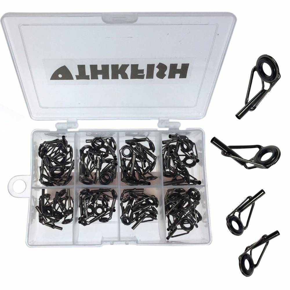 Thkfish pesca Duo Lock Snap 100/piezas de plata agua dulce agua salada pesca Duo Lock Cruz Lock Snaps caja Set Kit