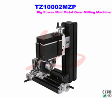 Electroplated Metal type! 60W mini lathe Gear milling machine TZ10002MZP for amateur and school teaching