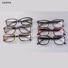 Mix wholesale promotion high quality glasses manufacture men Spectacle frame round myopia retro prescription clear