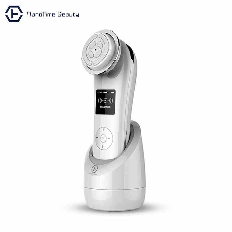 EMS V Shape Face Radio Frequency Skin Rejuvenation Firming & Lifting Machine ION Anti-cellulite Wrinkles removal Instrument RF mini portable usb rechargeable ems rf radio frequency skin stimulation lifting tightening led photon rejuvenation beauty device