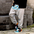 Hot Sale Hip hop loose hanging file cross pants plus size  pants harem pants Free Shipping