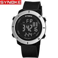 SYNOKE Calendar Digital Watch Men Watches 2018 Brand Luxury Business Wristwatch For Male Clock Hodinky Relogio