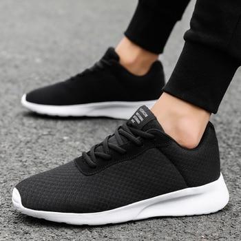 808fdb11 Verano de los hombres zapatos casuales zapatos transpirables zapatillas de  deporte para hombre de moda de encaje blanco, zapatos de marca zapatos de  malla ...