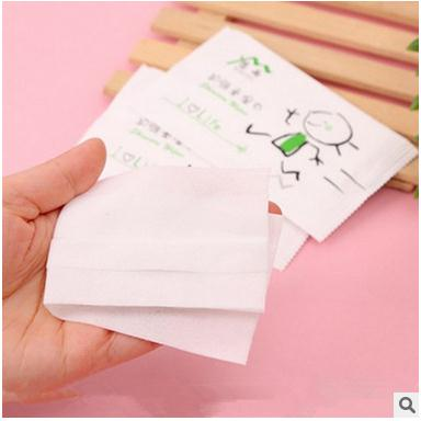 20bags/lot Wet wipe wet towel sterilizer travel adult wet wipes portable essential care hand-mouth non-woven single-chip