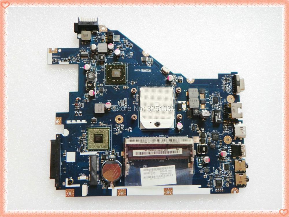 PEW96 L01 LA-6552P FOR ACER Aspire 5552G Laptop Motherboard NV50A MBR4602001 LA-6552P Gateway NV50A PEW96 100% tested