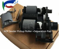 2sets New Original CE538 40039 Q7400 60159 For HP M225 1536 175 177 ADF feeder Pickup Roller +Separation Pad