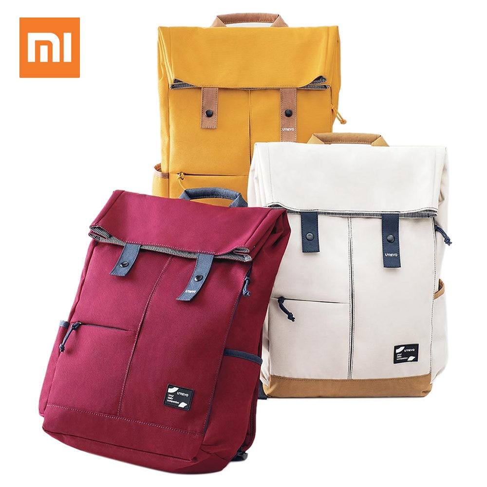 Xiaomi Urevo 13L College School Leisure Backpack Waterproof Laptop Bag School Bags Outdoor Travel Backpack 15.6 Inch - White