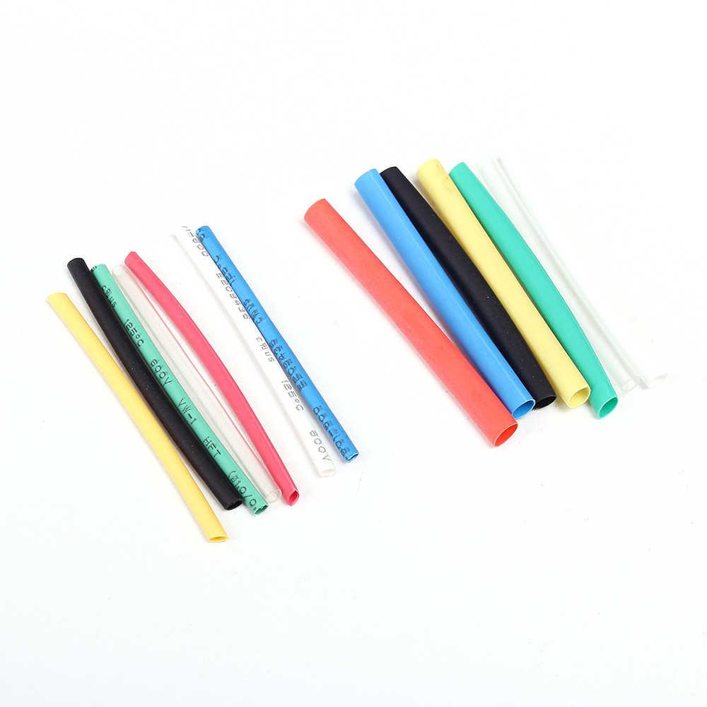 328 pièces 8 tailles Tube thermorétractable Tube multicolore polyoléfine 2:1 sans halogène assortiment gaine envelopper Tubes 7 couleurs