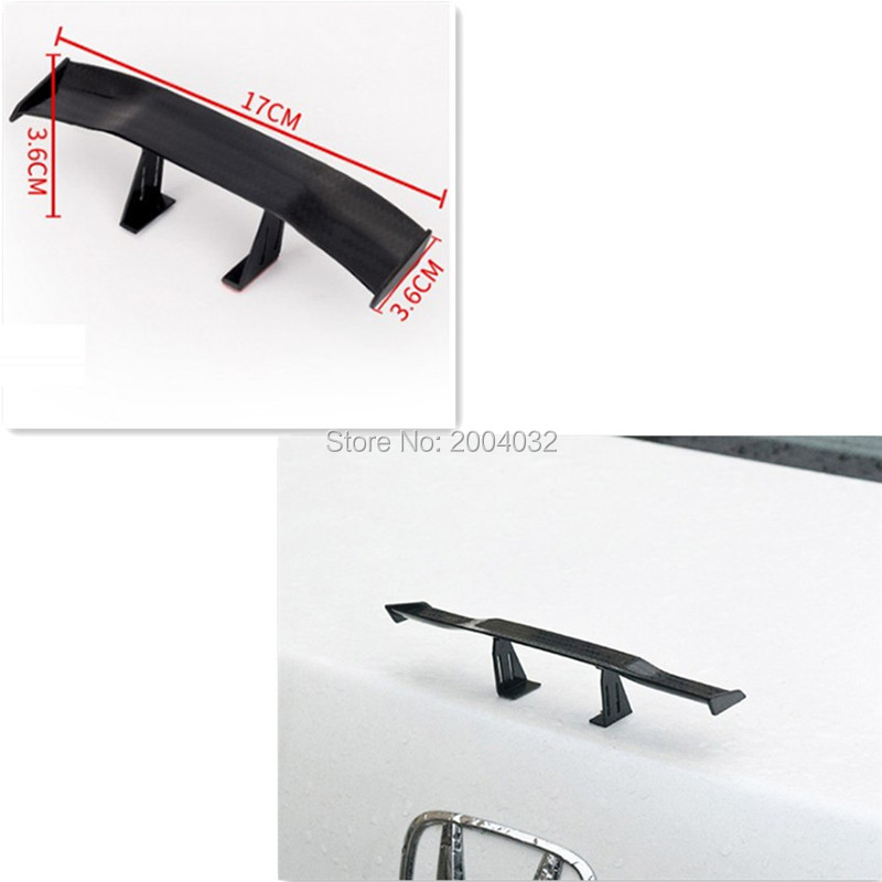 Car <font><b>Spoiler</b></font> Wing Small Tail Decoration Sticker Accessories for volvo v70 cruze 2010 w220 mercedes <font><b>w209</b></font> volvo xc60 volkswagen image